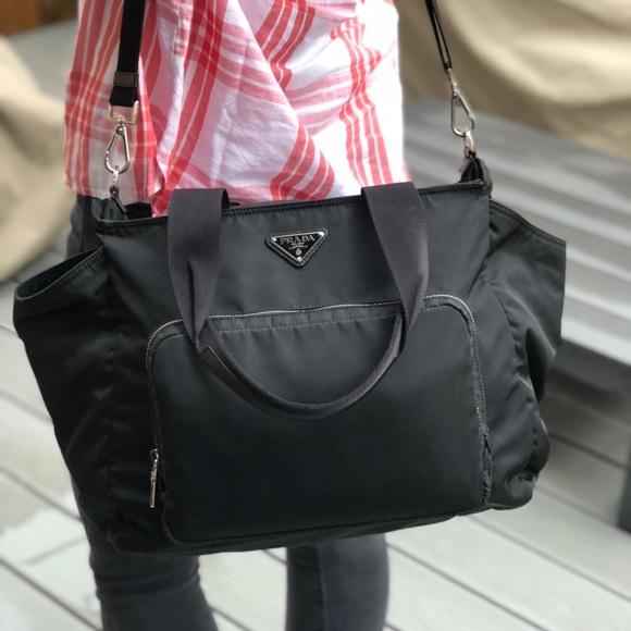 7748a0c49aca Prada Athentic Vela Nylon Baby Diaper bag. M 5b54c20c25457a4e0d7e1dcc